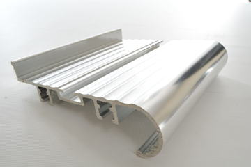 Custom aluminium extrusion from Multi Metals.